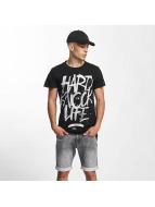 Rocawear T-Shirt Hard Knock Life black
