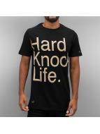 Rocawear T-Shirt Hard Knock Life noir