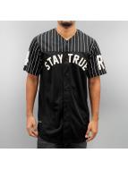 Rocawear T-Shirt Baseball schwarz
