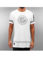Rocawear T-Shirt Double Mesh Long weiß