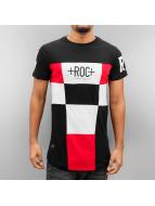 Rocawear t-shirt Square zwart