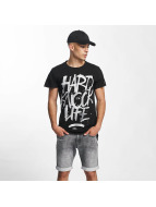 Rocawear T-skjorter Hard Knock Life svart