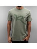 Rocawear Tričká Logo olivová