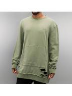 Rocawear trui Cuts olijfgroen