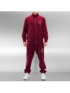 Rocawear Tuta Velour rosso