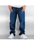 Rocawear Mirror Tapered Loose Fit Jeans Mid Blue