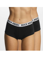 Rock Angel Alusasut Double Pack Logo musta