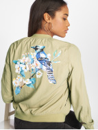 Rock Angel Alia Bomber Jacket Olive Beige