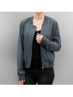 Rock Angel Alia Bomber Jacket Comet Blue