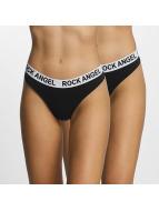Rock Angel Lingerie Double Pack Logo noir