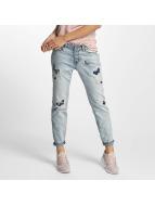 Rock Angel Loose fit jeans Rosie Badges blauw