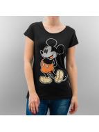 Rock Angel T-Shirt Mickey schwarz