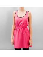 RUT&CIRCLE Kleid Price Eagle Stripe pink
