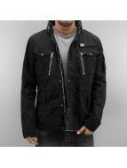 Schott NYC Демисезонная куртка Field черный
