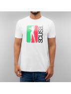 SCUSA T-Shirt Badabing weiß