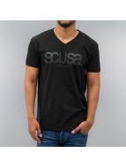 SCUSA t-shirt Classico Logo zwart