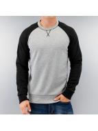 Selected Пуловер Urban Varsity серый