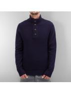 Selected Пуловер Staten Button синий