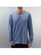 Selected Longsleeve Riss blau