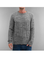 Selected Pullover Rowan Crew Neck gris
