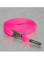 Seven Nine 13 Kengännauhat Full Metal vaaleanpunainen