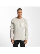 SHINE Original Пуловер Malcom Pocket Inside Out серый