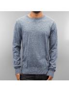 Basic Sweater Blue Mix...