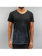SHINE Original Camiseta Raw Oil Wash negro