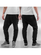 SHINE Original Chino Casual Drop Crotch schwarz