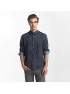 SHINE Original Hemd Fletcher Broken Star Printed Shirt blau