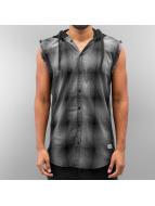 SHINE Original Hemd Checked schwarz