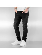 SHINE Original Jean coupe droite Tapered noir