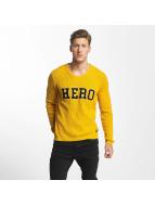 SHINE Original Jersey O-Neck Knit amarillo