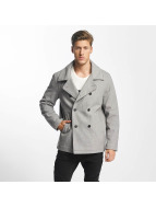 SHINE Original Kabáty Button Row šedá
