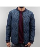 SHINE Original Manteau hiver Quilted bleu