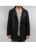 SHINE Original Mantel Wool Coat schwarz
