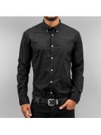 SHINE Original overhemd Poplin zwart