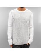 SHINE Original Pullover o Neck blanc