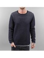 SHINE Original Pullover Texture Knit blau