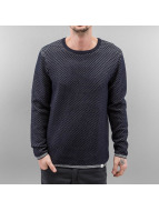 SHINE Original Pullover Texture Knit bleu