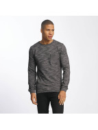 SHINE Original Pullover Malcom Pocket Inside Out grau