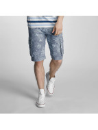 SHINE Original Shorts Long Printed blau