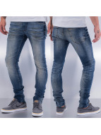 SHINE Original Skinny Jeans Used blau