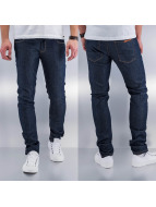 SHINE Original Skinny Jeans Drop Crotch blau