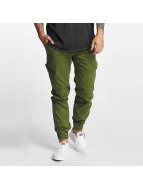 SHINE Original Spodnie Chino/Cargo Slim zielony