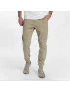SHINE Original Stoffbukser Drop Crotch beige