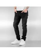 SHINE Original Straight Fit Jeans Tapered čern