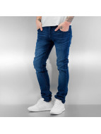 SHINE Original Straight Fit Jeans Tapered modrý