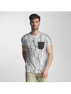 SHINE Original T-paidat Long Oversize Jarrod valkoinen