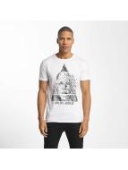 SHINE Original T-paidat August Graphic valkoinen